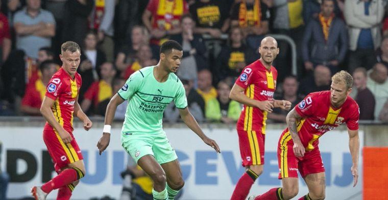 PSV met schrik vrij: drie dagen na 'Feyenoord' wordt Go Ahead nipt verslagen