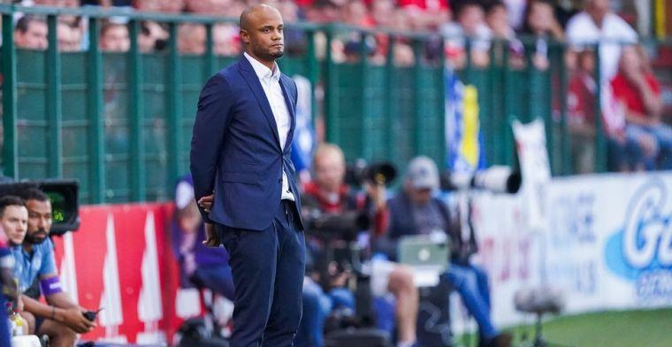 Kompany ziet één pion terugkeren in de selectie van Anderlecht