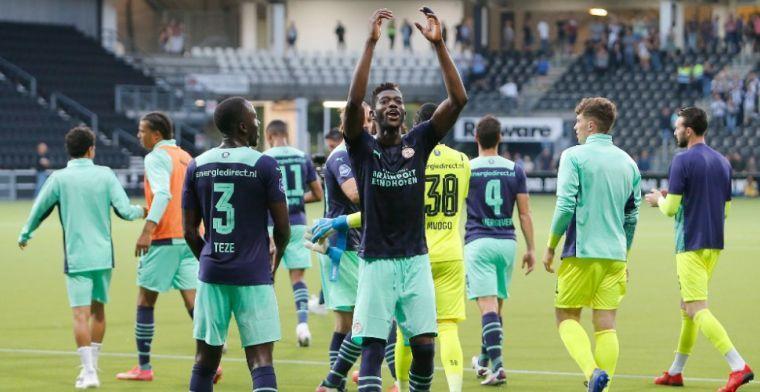 PSV 'mist' Sangaré: 'Oh, nu wel!? Hoorde mensen alleen over hem zeiken'
