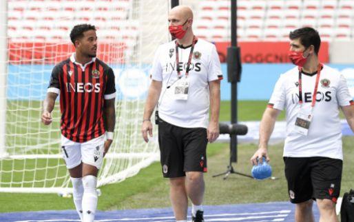 Afbeelding: Nice-coach Galtier spreekt zorgen over Kluivert uit: 'Verwacht dat lang duurt'