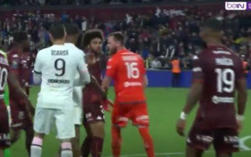 Mbappé en Neymar clashen met woedende keeper na winnende goal PSG