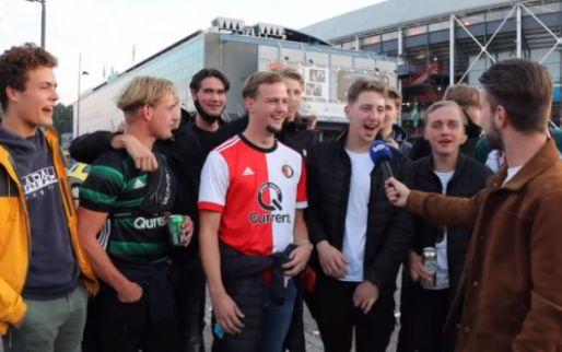 Feyenoord-fans jennen PSV en 'knettergekke' Schmidt: 'Dat is echt bizar'