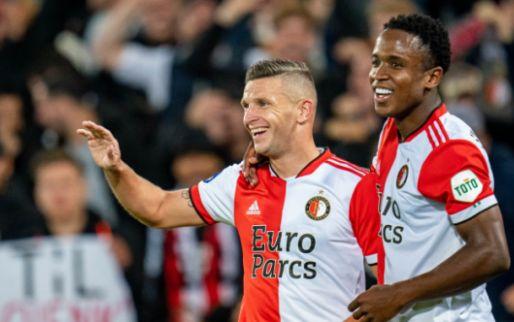 'Ik denk dat ik de kritiek hier bij Feyenoord zal blijven houden tot ik wegga'