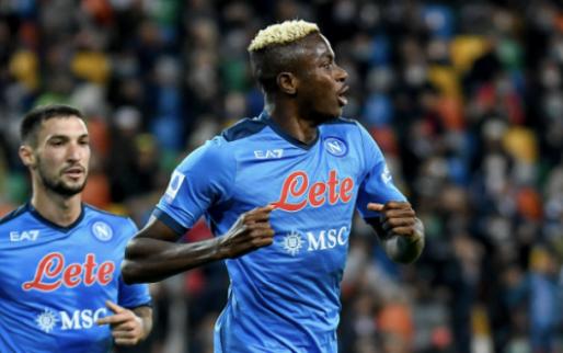 Afbeelding: Osimhen (ex-Charleroi) leidt Napoli naar leidersplaats in Serie A