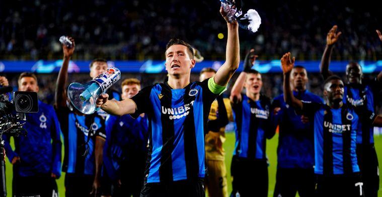 "Brys lovend over Club Brugge: ""Zo'n sterke Belgische club nog nooit gezien"