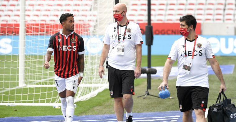 Nice-coach Galtier spreekt zorgen over Kluivert uit: 'Verwacht dat lang duurt'