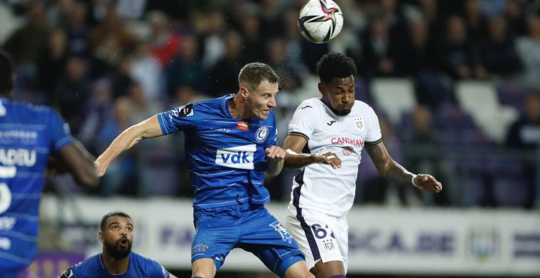 RSC Anderlecht en KAA Gent delen de punten in Brussel