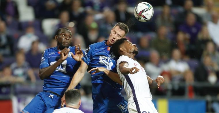 'Anderlecht in uittenue als thuisploeg na verwarring'