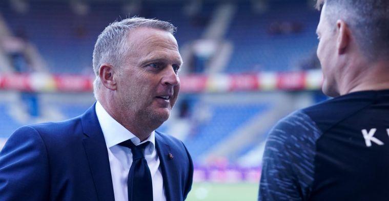 """Van den Brom (KRC Genk) na nederlaag: """"Enige ploeg die gevoetbald heeft"""""""