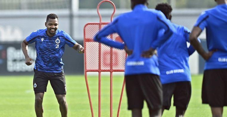 Clement spreekt over comeback Izquierdo bij Club Brugge: 'Evolutie, maar nog lang'