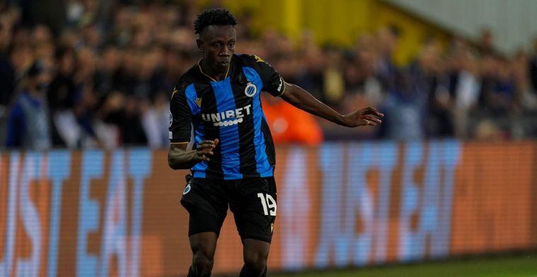 Sowah breekt meteen door bij Club Brugge: Hij voelt zich hier thuis
