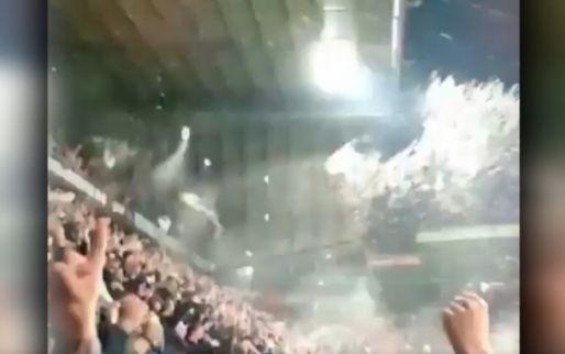 Vreugde-explosie in Grolsch Veste: meters bier door de lucht na Twente-goal