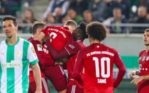 Afbeelding: Viergever en Willems moeten het hoofd buigen voor machtig Bayern