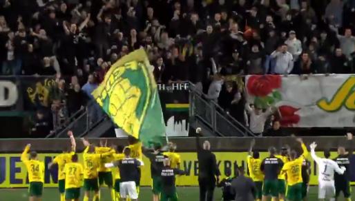 Fantastisch: ADO wint en viert zege voor Midden-Noord met ernstig zieke fan