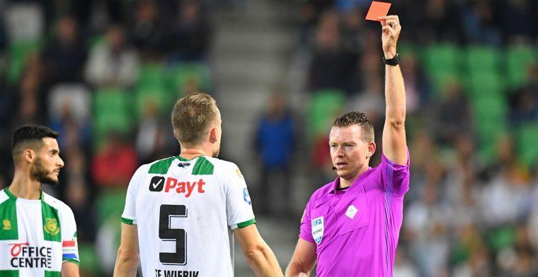 Te Wierik is opgelucht na vrijspraak, maar kan toch niet tegen Ajax spelen
