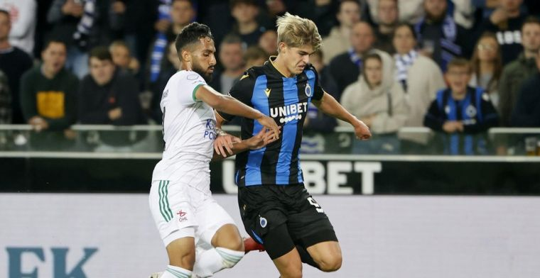 Club Brugge kan thuis niet winnen van Oud-Heverlee Leuven, Mata redt een punt