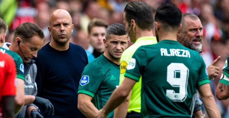 Slot vol lof: 'Mening dat hij Feyenoord-niveau zou missen deel ik helemaal niet'