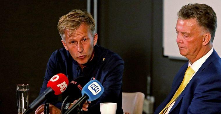 Van Gaal ziet Telstar-plan werken: 'Dat was bij Nederlands elftal ook al zo'