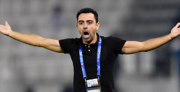'Goed nieuws voor Barça uit Qatar: clublegende Xavi vrijwel gratis op te halen'