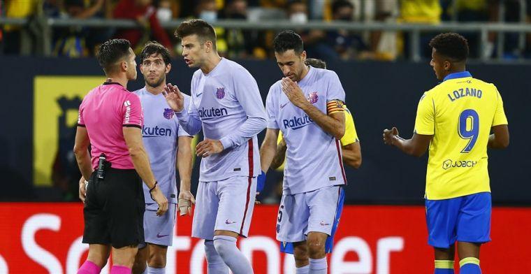 Pleidooi Piqué na remise Barça: 'Laten we niet naar twee kampen zoeken'