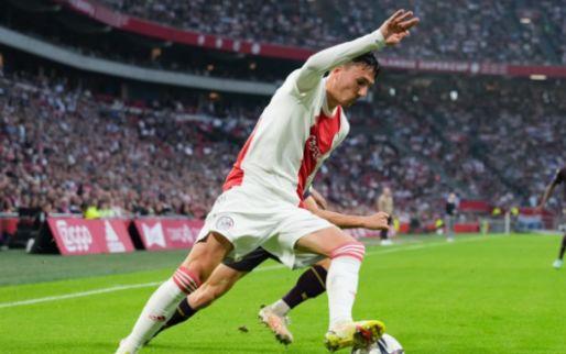 Afbeelding: Berghuis ziet concurrentiestrijd toenemen bij Ajax: 'Zo denk ik er niet over na'
