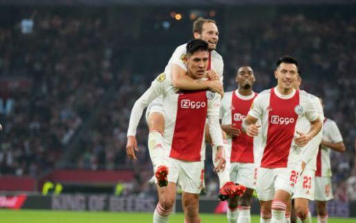 Afbeelding: Ajax nu al in grootse vorm: 'Als we dit vasthouden, zijn we moeilijk te verslaan'