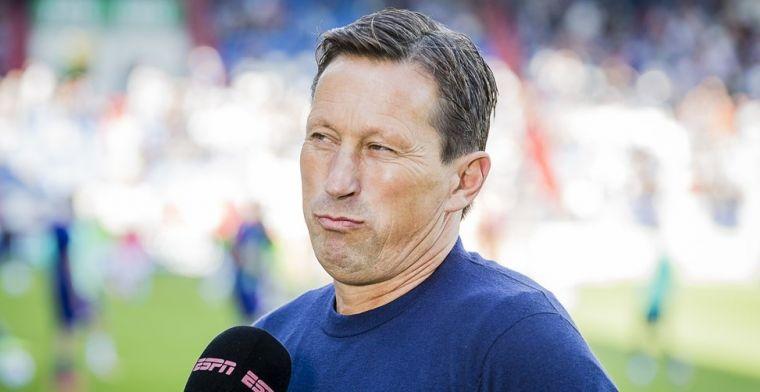 Perez discussieert met Schmidt: 'Geen Champions League en geen koploper'