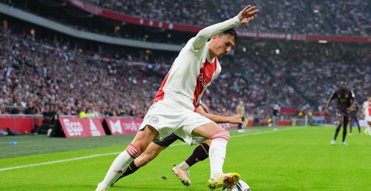 Berghuis ziet concurrentiestrijd toenemen bij Ajax: 'Zo denk ik er niet over na'