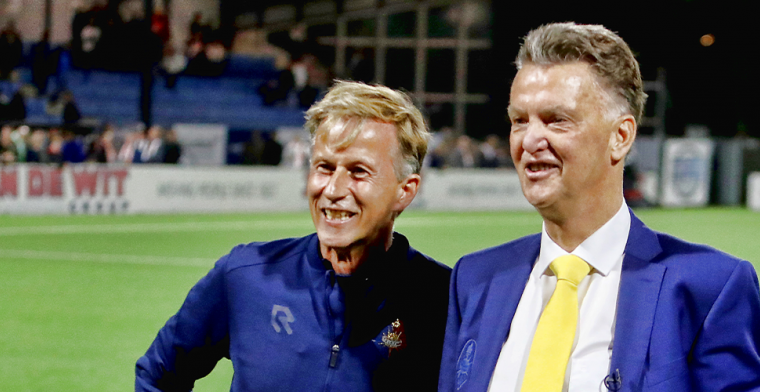 Van Gaal veilt Telstar-trainingspak: verkoop levert duizenden euro's op