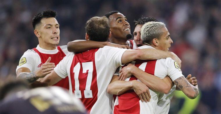 Ajax is ook tegen defensief Groningen oppermachtig en loopt uit op PSV
