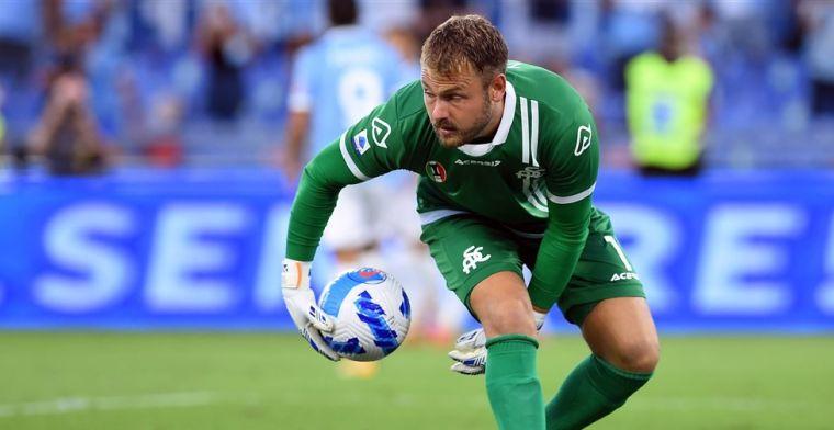 Zoet overlegt uitstekende statistieken: 'koning reddingen' in de Serie A