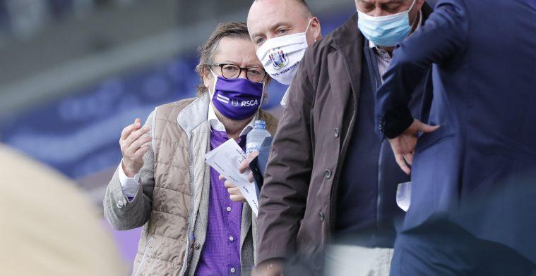 'Coucke is uitgenodigd door vrienden en woont KV Oostende-Anderlecht bij'