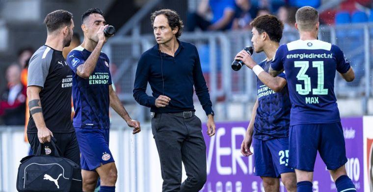 Ik kan het niet geloven, want we speelden veel beter dan Willem II