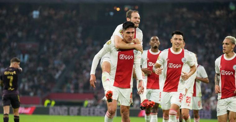 Ajax nu al in grootse vorm: 'Als we dit vasthouden, zijn we moeilijk te verslaan'