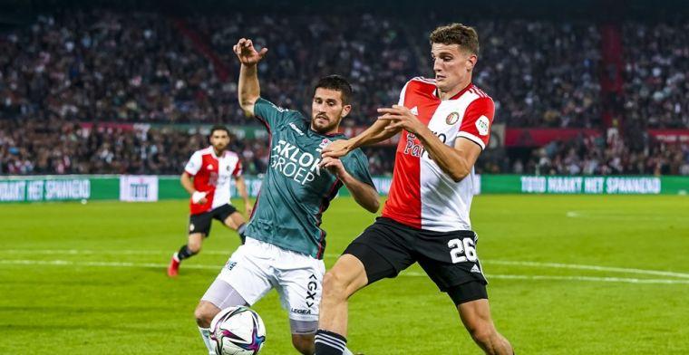 Feyenoord lacht het laatst in spektakelstuk: Til goud waard tegen NEC