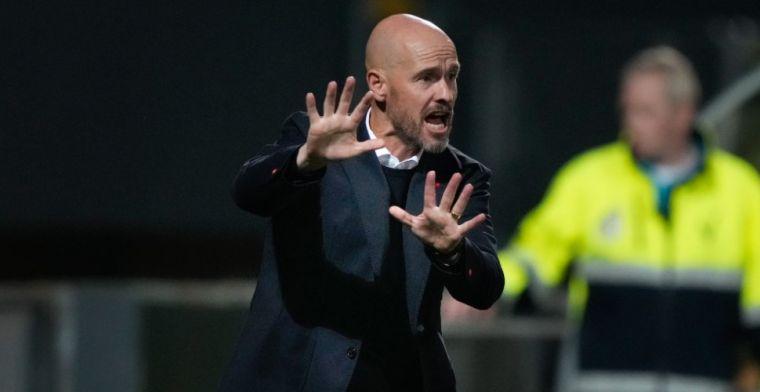 Ten Hag verwacht meer moeite voor zijn Ajax: 'Doet Groningen goed'