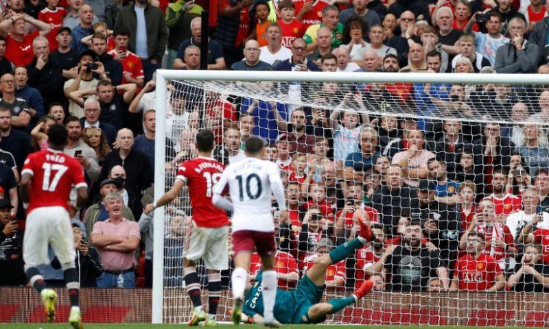 Afbeelding: Solskjaer niet blij met Aston Villa-spelers: 'Is duidelijk dat het gewerkt heeft'