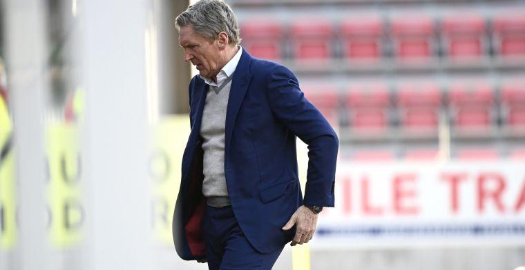 """Zulte Waregem-coach Dury geeft toe: """"Nu krijgen we een lichte strafschop"""""""