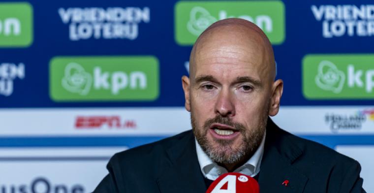 Ten Hag: 'We zullen de spelers die het verdienen en afdwingen kansen geven'