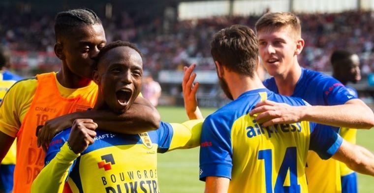 Janssen kent 'Parel van het linkerrijtje' nog van Vitesse: 'Had heel veel moeite'
