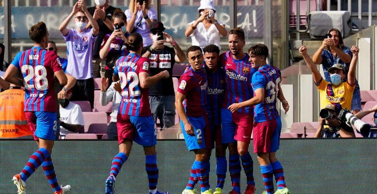 Memphis en Luuk de Jong bezorgen overtuigend Barcelona cruciale overwinning