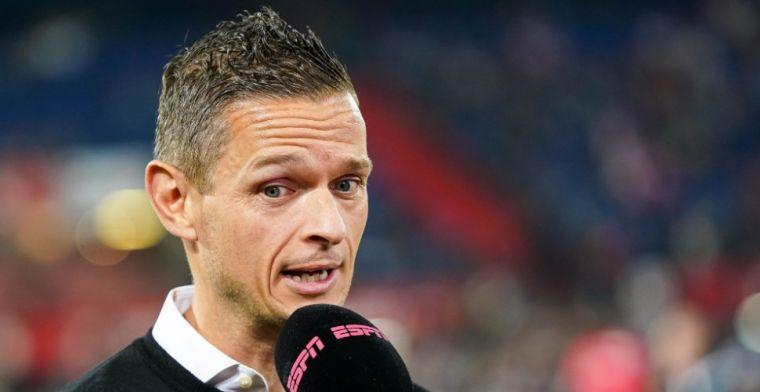 Meijer hekelt rol arbitrage bij Feyenoord-goals: 'Zie jij hem naar de bal kijken?'