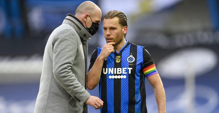 Club Brugge geeft selectie vrij, Vormer mag zijn comeback maken