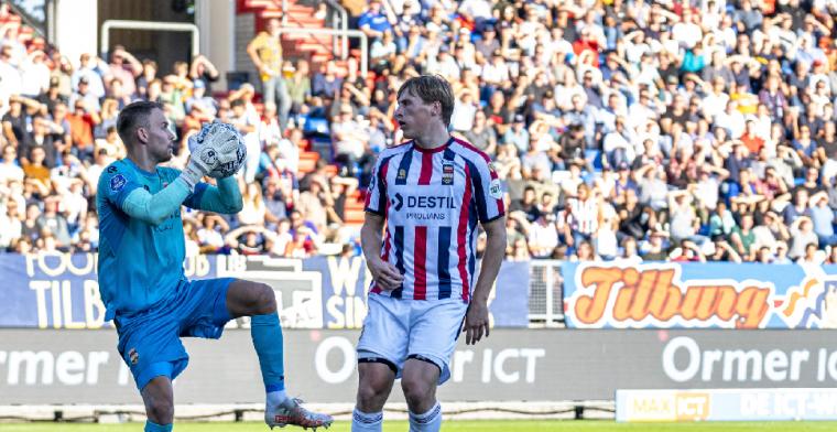 Wellenreuther heeft te doen met PSV-doelman Drommel: Ja, natuurlijk