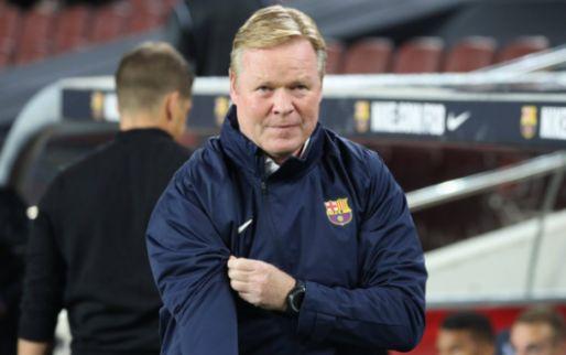 AS: Barcelona-ontslag 'vrijwel onmogelijk' voor Koeman door salariseisen La Liga