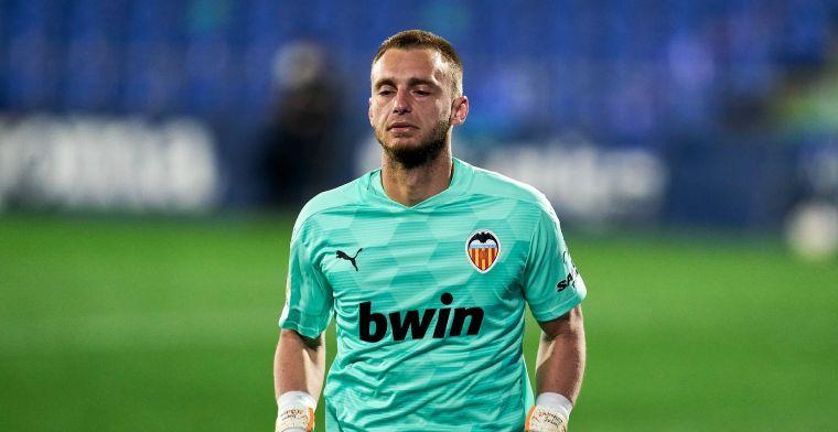 Valencia-coach blij met Cillessen-rentree: 'Hij maakte een geweldige redding'