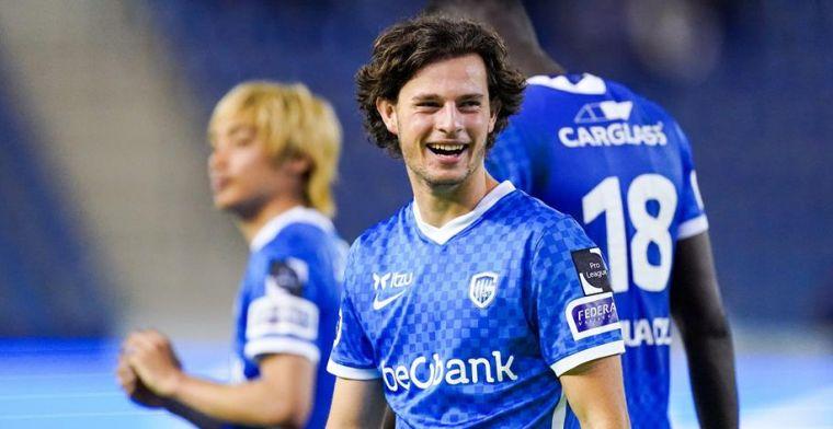 Geusens debuteert voor Genk: Ik voetbal hier al van mijn achtste, een droom