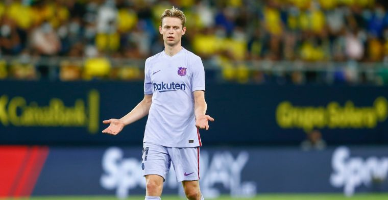 Gullit kritisch: 'Met Frenkie hobbelt het bij Barça, het ging sneller zonder hem'