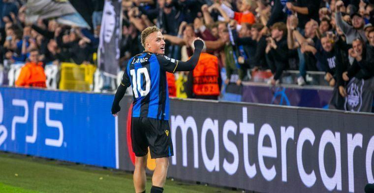 Club Brugge en Lang maken indruk in Duitsland: Een hele goede speler