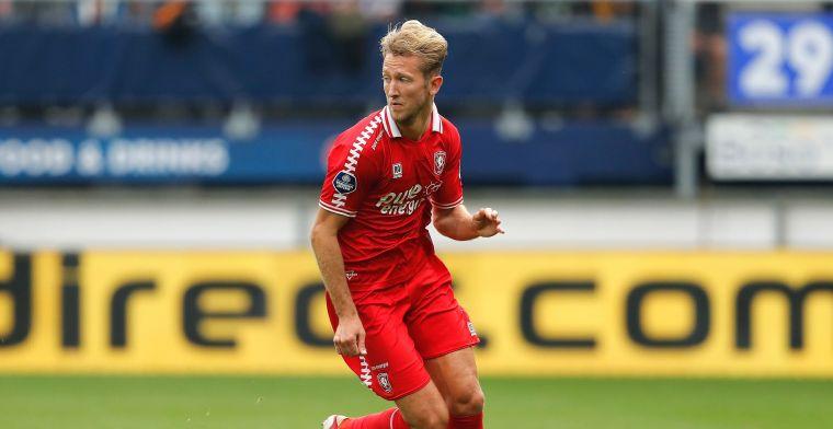 Vlap happy bij Twente: 'Wat een heerlijk ventje, daar kan ik echt van genieten'